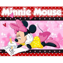 Kit Imprimible Minnie Mouse - Decoraciones Cajitas, Fiesta
