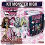 Monster High Invitaciones Carteles Kit Imprimible Jose Luis