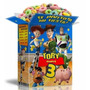 Mega Kit Imprimible Toy Story Textos 100% Editables 2x1