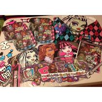Art. Fiestas - Kit Monster High (marca Quela)