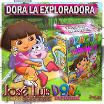 Dora La Exploradora Invitaciones Kit Imprimible Jose Luis