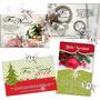 Invitaciones Navideñas Personalizadas Imprimibles