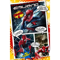 Invitacion Comic Personalizada Revista Halloween