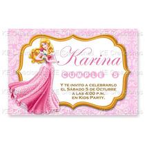 Invitaciones Kit Imprimible Bella Durmiente Princesas Disney