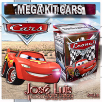 Cars Disney Invitacion Banderines Kit Imprimible Jose Luis