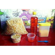 Palomitas Como En El Cine, Paquete Con Maiz,aceite,sal