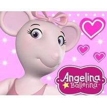 Kit Imprimible Candy Bar Golosinas De Angelina Ballerina