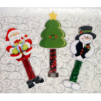 Navidad Dulceros Santa Reno Pino Mesa Dulces Regalo Navideño