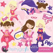 Kit Imprimible Superheroes Imagenes Clipart