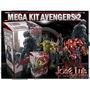 Avengers 2 Ultron Invitaciones Kit Imprimible Jose Luis