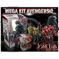 Avengers 2 Ultron Invitaciones Kit Imprimible Jose Luis