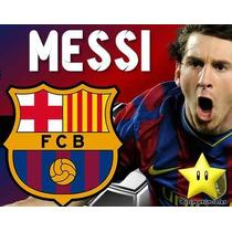 Kit Imprimible Barcelona Messi Diseñá Tarjetas, Cumples #2