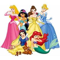 Kit Imprimible Princesas Disney Fiesta Cumpleaños Torta