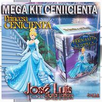 Cenicienta Banderines Invitaciones Kit Imprimible Jose Luis
