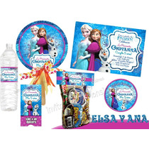 Invitaciones Frozen Kit Imprimible Personalizado
