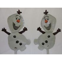 Frozen Olaf Globos Metalicos Fiestas 10 Pz Decoración Aire