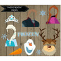 Kit Imprimible Frozen Photo Boot Props