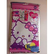 Set De Libro Para Colorear Y Cuatro Colores Hello Kitty