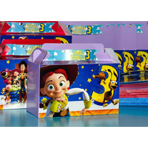 Caja Lonchera Para Dulces De Toy Story Personalizada