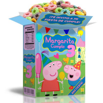 Mega Kit Imprimible Peppa Cerdita, Editable Powerpoint 2 X 1