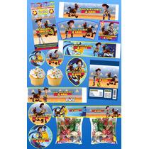 Kit Imprimible Woody Toy Story Mas De 30 Etiquetas