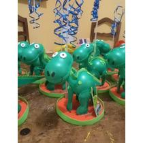 Centro De Mesa Dinosaurio, Fiestas Infantiles, Recuerdos
