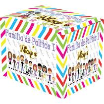 Kit De Imagenes Familia De Palitos Alta Resolución Recuerdos