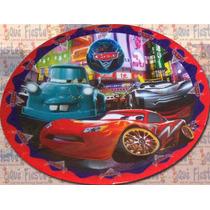 Plato Pastelero Cars Hecho Mide 20 Cm (paq. Con 10 Piezas)