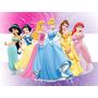 Kit Imprimible Princesas Disney Cotillón Candy Invitaciones
