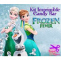 2x1 Kit Imprimible Candy Bar Frozen Fever 2015