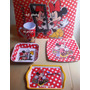 Fiesta D Minnie Mouse, Plato, Mantel