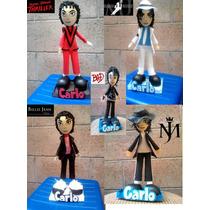 Centros De Mesa,fofuchas,cumpleaños,michael Jackson Y Mucho+