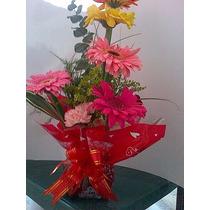 Arreglo De Flores Gerberas