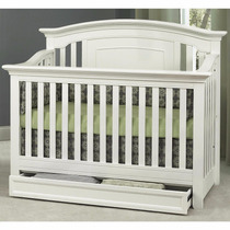 Cuna Baby Cache Harbor Lifetime Convertible Blanca..