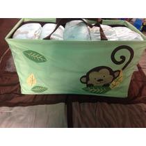 Bolsa Canasta Cesta Monkey Pop Kids Line Viaje