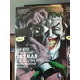 Batman The Killing Joke Deluxe Edition Hardcover Pasta Dura