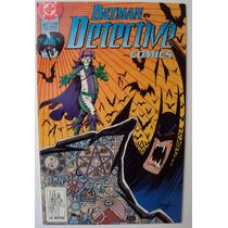 Batman Detective Comics 617 (dc Comics 1990) No Televisa.