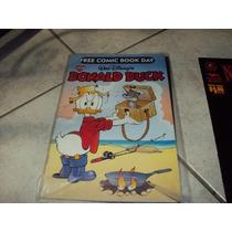 Comic Donald Duck Fcbd Free Comic Book Day Pato Disney