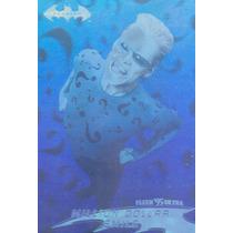1995 Fleer Ultra Dc Batman Forever Hologram The Riddler #15