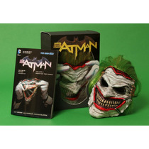 Batman: Death Of The Family Book And Joker Mask Set - Comic