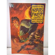 Superman Batman Legends Of The Worlds Finest Dc Comics Ingle