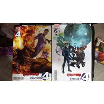 Fantastic Four Reino Oscuro # 1 Y 3 En Español Hickman