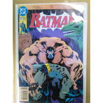 Batman: Num 497 Dc 1993 Firmada / Autografiada Por Jim Aparo