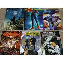 Batman Tierra Uno Vol. 2, Miraclemen Tp, Secret Wars 1-4