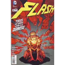 Comic New 52 Flash # 15 Nuevos Televisa Tenemos Atrasados