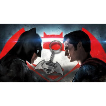 Llavero Batman Vs Superman Exclusivo De La Premiere