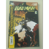 Comics De Coleccion Dc Batman Juegos De Guerra Preludio