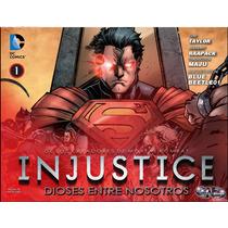 Injustice Gods Among Us Años 1 Al 5 (totalmente En Español)
