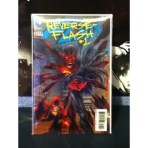 Dc Cómics, The New 52 Flash. Reverse Flash #1 Portada 3d