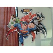 Cuadro Liga De La Justicia Dc Comics